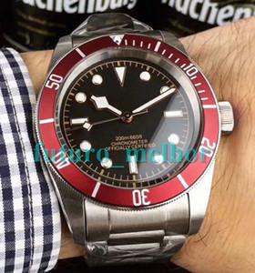 Мужские роскошные часы Tudorrr из нержавеющей стали Автоматические механические НАСЛЕДИЕ BLACK BAY ROTOR MONTRES Дизайнерские часы Наручные часы с автоподзаводом