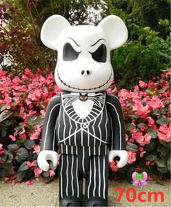 HOT 1000% 70 cm Bearbrick Evade Colla cranio di jack bear style figure giocattolo per collezionisti Be @ rbrick Art work work decorazioni per bambini regalo per bambini