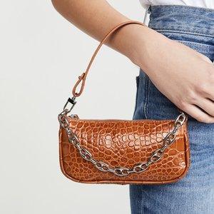 Lizard-print PU une épaule Sacs en cuir Mini Rétro Vintage Lady Sacs à main femmes Design Sac Rachel Dropship