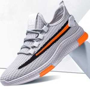 Quality Men Sneakers Breathable Mesh Non-slip Hard-wearing Mix Color Shoes Mix Color Sport Running Athletic Shoes Zapatos De Hombre