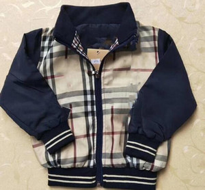 Çocuk Giyim Tasarımcısı etiket Çocuk Ceketler Bebek Erkek Kız Ceketler Fermuar Mont Yeni Boy İlkbahar Sonbahar Dış Giyim Tops