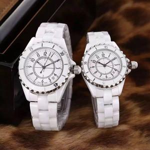 8 colori guardano 2019 White Lady ceramica nera 33mm orologi di alta qualità degli orologi del quarzo orologi per le donne 62