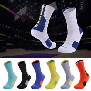Hochwertige Elite Basketball-Socken Mitte Rohr Mens Team Socken Handtuch untere Verdickung Sportsocken für Junge Hersteller der heiße Verkauf