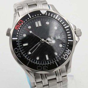 clásico 300m Profesional de James Bond 007 del dial principal Co-Axial automática Movment inoxidable deporte de la correa para hombre del reloj de los relojes