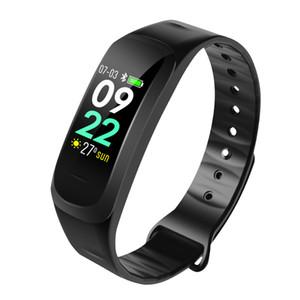 C1 Smart-Band Smart-Armband Fitness Tracker Wasserdichte Herzfrequenzmesser Blutdruck-Smart-Armband
