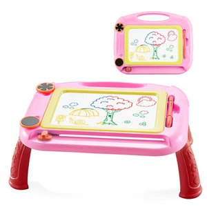 Kids Magnetic Drawing Board with Holder Graffiti Painting Board Educational Toys Educational Writing Table Toy Big Size #YL1