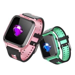 Y68 Bambini Smart Watch con telecamera posteriore Sicurezza IP67 Impermeabile orologio da polso multifunzione Chiamata Individuazione Anti Perso