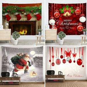 Hot Xmas Art Home Wall Hanging Tapestry Wall Ornamentation Decorazioni natalizie