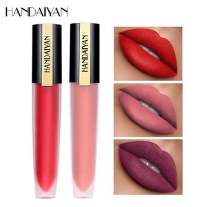HANDAIYAN 6 Colors Matte Lip Gloss Liquid Lipstick Long Lasting Makeup Moisturizer Lipgloss Batom Make Up Lip Tint TSLM1