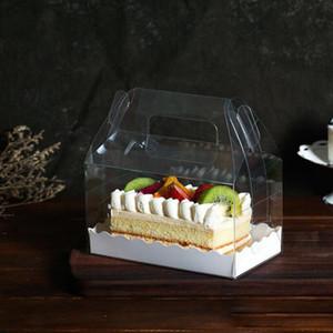 Kek Kutusu Packaging Düğün Favor Hediye Noel Şeker Partisi Kek Tatlı Kağıt Wrap Taşınabilir Kek Rulo Boxs Depolama