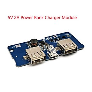 Consumer Electronics 5V 2 Power Bank Charger Module Charging Circuit Board Step Up Boost Power Supply Module 2A Dual USB Output 1A Input