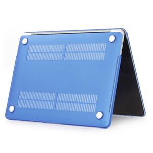 Mat Buzlu Sert Plastik Koruyucu Kılıf 11 12 13 15 inçlik Macbook Air Pro Retina Lastik PC Koruyucu Kapak Kabuk Ön + Geri için