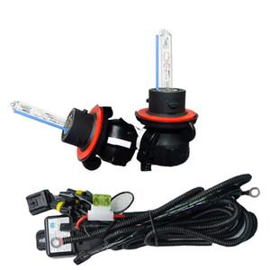 2x 35W автомобильный AC HID лампы ксеноновые фары лампы H13 / 9008 Hi / Lo Bi-ксенон с жгутом проводов артикул: 2226