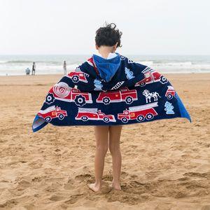 Trocknen Umhang mit Kapuze Gym Badezimmer Reisen Sport Schwimmen Handtuch Cartoon Cotton Baby-Produkte für Kinder Badetuch