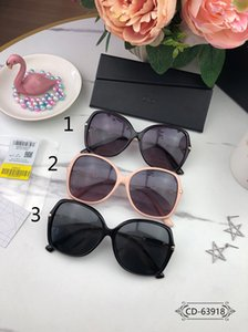 Designer Sunglass 63918 Sunglasses Lady Sunglasses Outdoor Vacation Large Frame 3 Color UV protection Size:59-16-143
