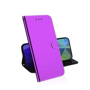 Lisse anti-choc en cuir PU pour Motorola Moto G7 G7 Plus / G7 Alimentation / E6 / E6 plus Flip Cover stand portefeuille avec emplacement pour carte carte