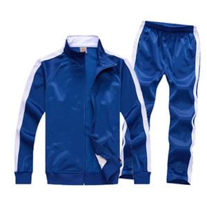 Erkek Tracksuits Spor Suit Erkek Ceket Suits Takım Renk 9 Renkler Büyük Beden Asya Boyut M-4XL ile Spor Giyimi Eşleştirme