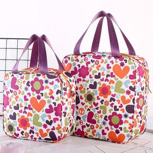 Aluminium Foil multifunción bolsos del almuerzo del bolso impermeable de Higiene Lavado exterior portátil, maquillaje cosmético bolsas impresas bolsos de viaje VT1589 T03