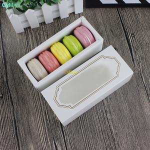 도매 뜨거운 새로운 창 마카롱 상자, 케이크 상자, 선물 상자 200PCS / LOT