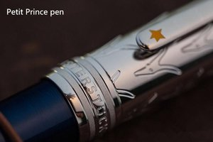 di alta qualità 163 Petit Prince blu penna a sfera / Rullo di Penna bene Forniture per ufficio di cancelleria carino lusso MB penne regalo