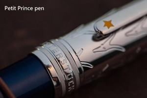 hohe Qualität 163 Petit Prince Blau Kugelschreiber / Roller Kugelschreiber Fein Stationery Office Supplies nette Luxus MB Stifte Geschenk
