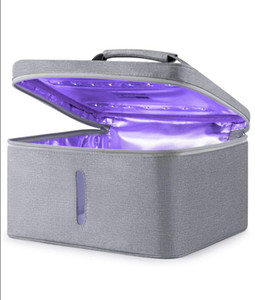 NEW الأشعة فوق البنفسجية معقم مجلس الوزراء صندوق أو حقيبة UV النظيف المطهر لزجاجة الطفل أداة تنظيف الملابس منشفة الملابس التطهير LLY