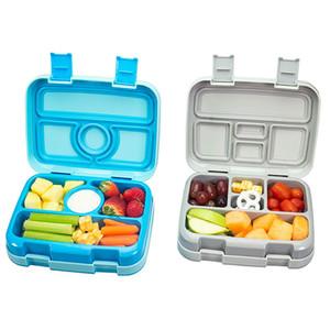 Micck Bpa Ücretsiz Öğle Yemeği Çocuklar Bölmesi Ile Mikrodalga Karikatür Bento Kutusu Sızdırmaz Gıda Konteyner Piknik Için Lunchbox C19041601
