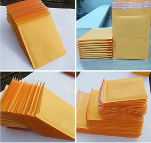 Business Kraft Bubble Mailers Envelopes 5.9x 7.9 inch 150x200+40mm Industrial Wrap Bags Padded Envelope Mail Packing Pouch