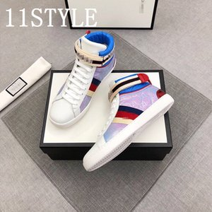 19FS 2020 luxurious Spring Ins Fashion Shoes Men Boots High top Sneakers Man Canvas Shoes Cool Young Men Street Shoes Size 35-45