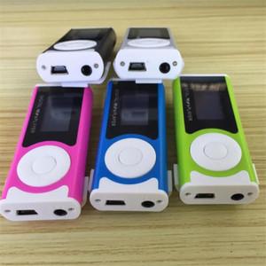 100 pcs MP3 externe son Clip Carte Carte LED Lampe De Poche Mp3 Walkman lecteur de musique Anti-Interférence électromagnétique Étudiant Cadeau MX-803
