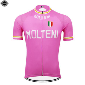 Italy Cycling jersey 2020 ropa ciclismo bike jersey pink short sleeve pro team bicycle clothes