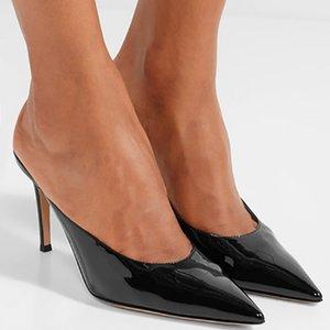 Amazing2019 brevet Concise fine en cuir avec Sharp Retour Joker Air Sandales confortables