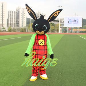 Nouveau costume Hot Lapin BING costume de mascotte Déguisements Noël Anime pour la fête d'Halloween