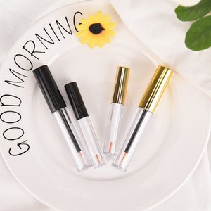 2 Colors Eyeliner Container Make Up Tube Empty Liquid Eye Liner Tube Eye Lash Vial Eyelash Bottle