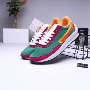2019 fashion Newest Sacais x LVDS Waffle Daybreak trainer designer mens running shoes brand breathe run sport sneakers