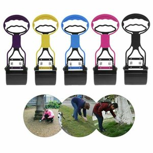 Pet Dog Pooper Scooper Cat Poop Scoop Waste Easy Clean Pickup Grabber Remover Toilets Easy Pick Up Tools 20pcs LJJA2338