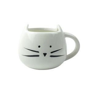 400ml Cute Cat Milk Mug Ceramica creativa Animal Mug Mug Porcellana Tè Mug lovers Coppia tazze Drinkware