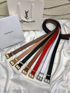 Con la caja 2019 nuevo diseñador de moda de lujo, cinturón de damas de alta calidad, cinturón de cuero para hombres y mujeres + caja + bolso de mano