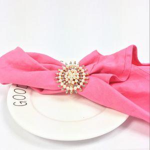 5PCS napkin ring alloy diamond diamond napkin buckle wedding ring buckle hotel supplies tableware table