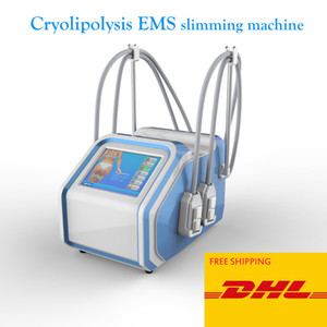 New arrivals Fat Freezing EMS Cryolipolysis Machine Non Vacuum Cryolipolysis EMS Paddles Device With 4 Handlles For Body Slimming
