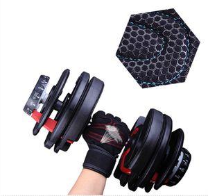Man Woman Sports Fitness Gewichtheber-Handschuhe Gym Bodybuilding Trainings Handgelenk-Verpackungs-Sport-Übung Half Finger Handgelenk Rutsch-Handschuhe LJJA4005