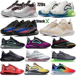 720 spirit teal 2019 Be True Triple Black Neon Streaks Sunset Northern Lights Night TPU Sports Running Sneakers Uomo Donna Designer Shoes