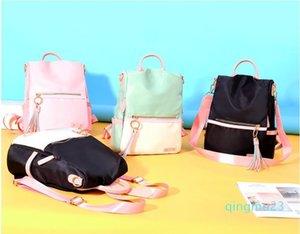 Designer-Hot Canvas Backpacks Candy Color Waterproof School Bags for Teenagers Girls Ladies Handbag Tote Shoulder Backpack Bags New *