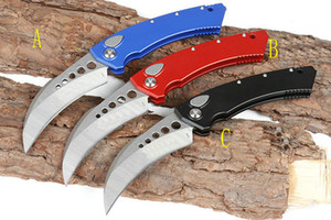 Haute qualité BM griffe couteau karambit D2 micro couteau pliant trois styles UT A16 automatique Couteau En plein air tactique de chasse automatique survie couteaux