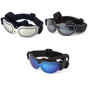 Стильный и Fun Pet / собака щенок Uv очки солнцезащитные очки Водонепроницаемые защиты Солнцезащитные очки для собак Dog Houses Kennels Аксессуары