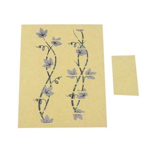 Ukulele Fretboard Nota decalcomanie, modello di fiore