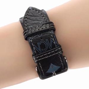 Diseñador de Apple banda de reloj de 44 mm 42 mm 40 mm 38 mm marca Smart correas de cuero de lujo correas de reloj pulsera inteligente Wrist Band A14