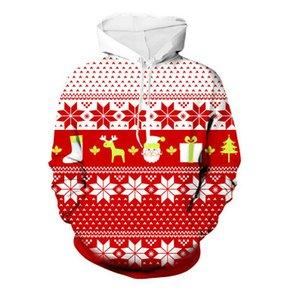 Mens del estilo del diseñador camiseta de color de la Navidad del suéter encapuchado de Estudiantes Jóvenes tendencia de la moda suéter ropa de sport de calidad superior 2020 nuevos calientes