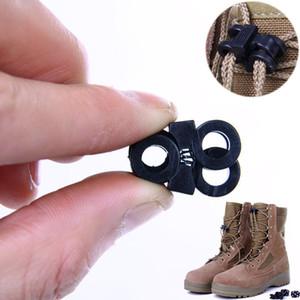 10pcs Randonnée Accessoires Lacets Boucle clip EDC Tactical Gear Outdoor Bottes Chaussures Grenade Lacet de serrage anti-dérapant Boucle