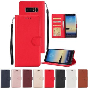 Cüzdan PU Deri Kılıf Kapak Çevirin Kart Yuvası Çerçeve Kickstand Samsung Galaxy S10 Için E 5G S9 Artı S8 Not 10 10 + 9 8 Anti-vurmak
